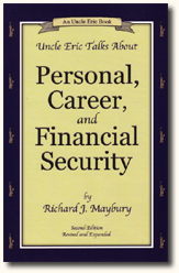 Book Cover Uncle Eric Talks About Personal, Career and Financial Security